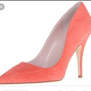 Kate Spade Licorice Coral Pumps